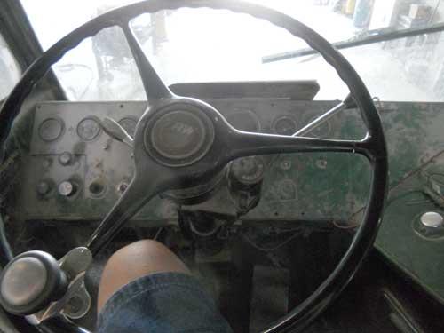 Inside on the Beast Truck
