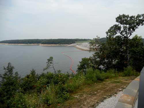 Mark Twain Lake at the back view 2
