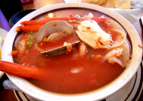 Casa Sanchez Mexican Restaurant - 7 Seas Soup - Siete Mares - Fresh Fish