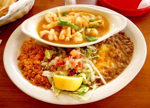 Casa Sanchez Mexican Restaurant - Camarones Rancheros