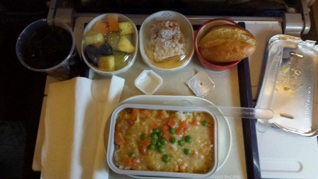Food in the plane 2